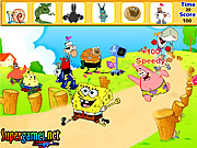 choi game SpongeBob Hidden Object