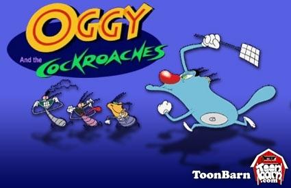 Game Mèo Oggy Bắt Gián