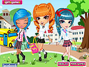 Game Cutie Trend School Girl Group Dress Up