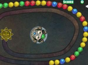 Game ếch bắn bóng