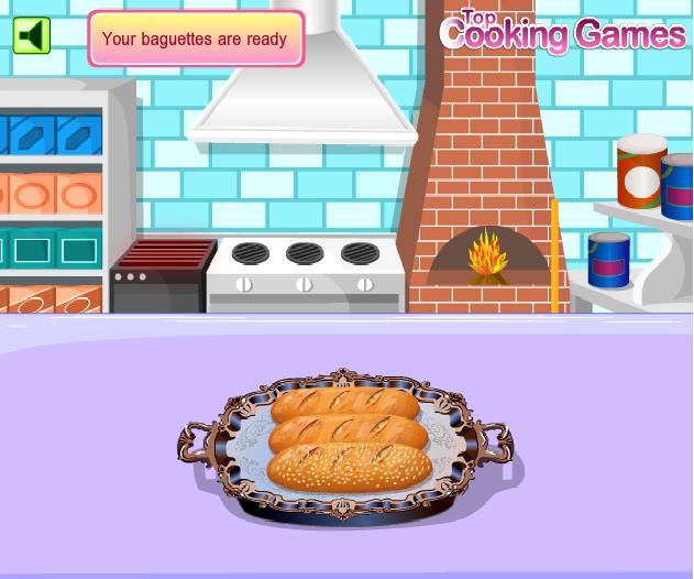 Game Làm Bánh Mì