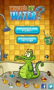 Game tắm cho cá sấu