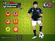 Chơi game thời trang của Messi