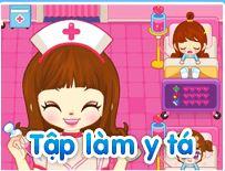 Game bác sĩ làm trong phòng khám bệnh