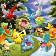 game tran chien pokemon