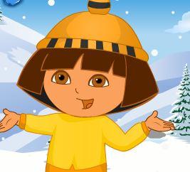 Trang phục trượt tuyết của DORA