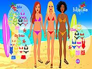Game trình diễn thời trang áo tắm