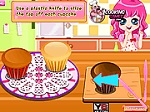 choi game Butterfly Banana Cupcake