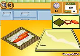 Tập làm Sushi