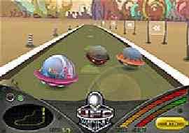 UFO đua xe