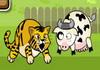 Hổ ăn bò con