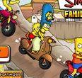 Gia đình Simpson đua xe