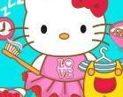 Hello Kitty đi học