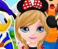 Barbie đi chơi công viên Disneyland