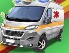 Ghép hình xe cứu thương