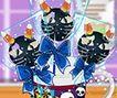 Kẹo mút mèo đen
