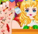 Phẫu thuật chân cho công chúa