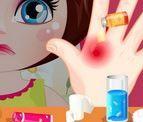 choi game Chữa bỏng tay cho Dora