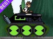 Ben 10 lái xe tăng
