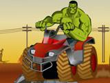 Hulk lái xe