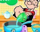 Thủy thủ Popeye nấu ăn