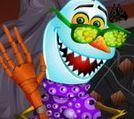 Olaf hóa trang ngày Halloween