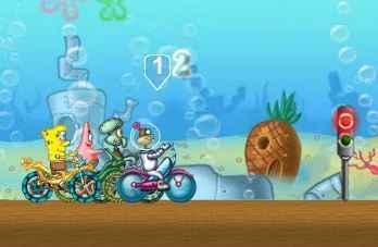 Đua xe dưới đáy biển