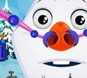 Bác sĩ chữa mũi cho Olaf