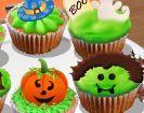 Làm bánh Halloween cupcakes 2015