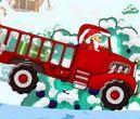 choi game Ông già Noel lái xe tải