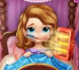 Công chúa Sofia bị cảm cúm