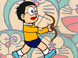 Nobita bắn bóng bay