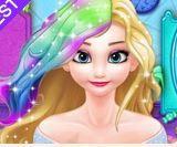 Nhuộm tóc cho Nữ hoàng băng giá Elsa