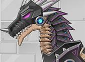 choi game Lắp ghép Robot Rồng đen