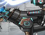choi game Lắp ghép robot Smilodon Black