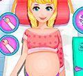 Công chúa sinh em bé