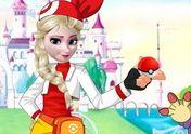 Elsa chơi Pokemon Go