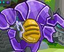 choi game Lắp ghép Robot tê giác