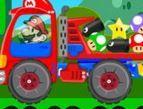 choi game Super Mario lái xe tải