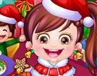 choi game Baby Hazel Christmas Day Dressup