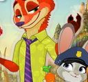 choi game Zootopia Judy and Nick Dress Up