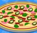 Lọ Lem làm bánh pizza trứng