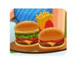 Cửa hàng bánh hamburger