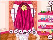 Tạo kiểu tóc cho Selena Gomez