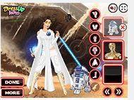 Công chúa Leia xinh đẹp