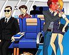 Hôn trộm nữ  tiếp viên hàng không