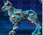 choi game Lắp ghép robot chó sói