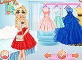 Công chúa biểu diễn thời trang