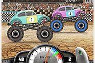 choi game Đua xe tải quái vật