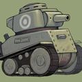 Game Tank Hay